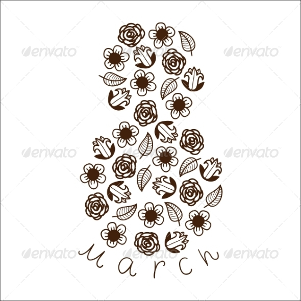 GraphicRiver 8 of Flowers 6942696