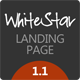 WhiteStar - Responsive HTML5 Landing Page - ThemeForest Item for Sale