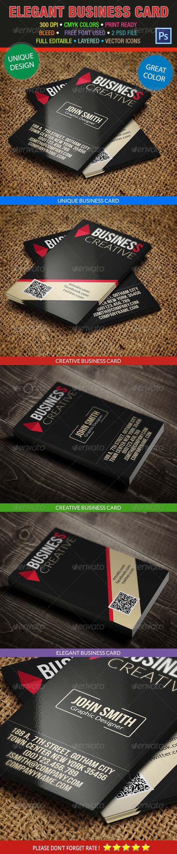 GraphicRiver Creative Business Card 203 6942743