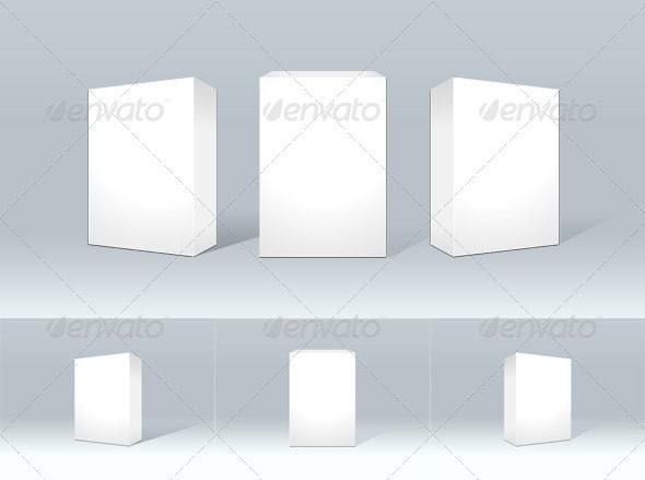 GraphicRiver Product Box Packaging Mockup 6942872