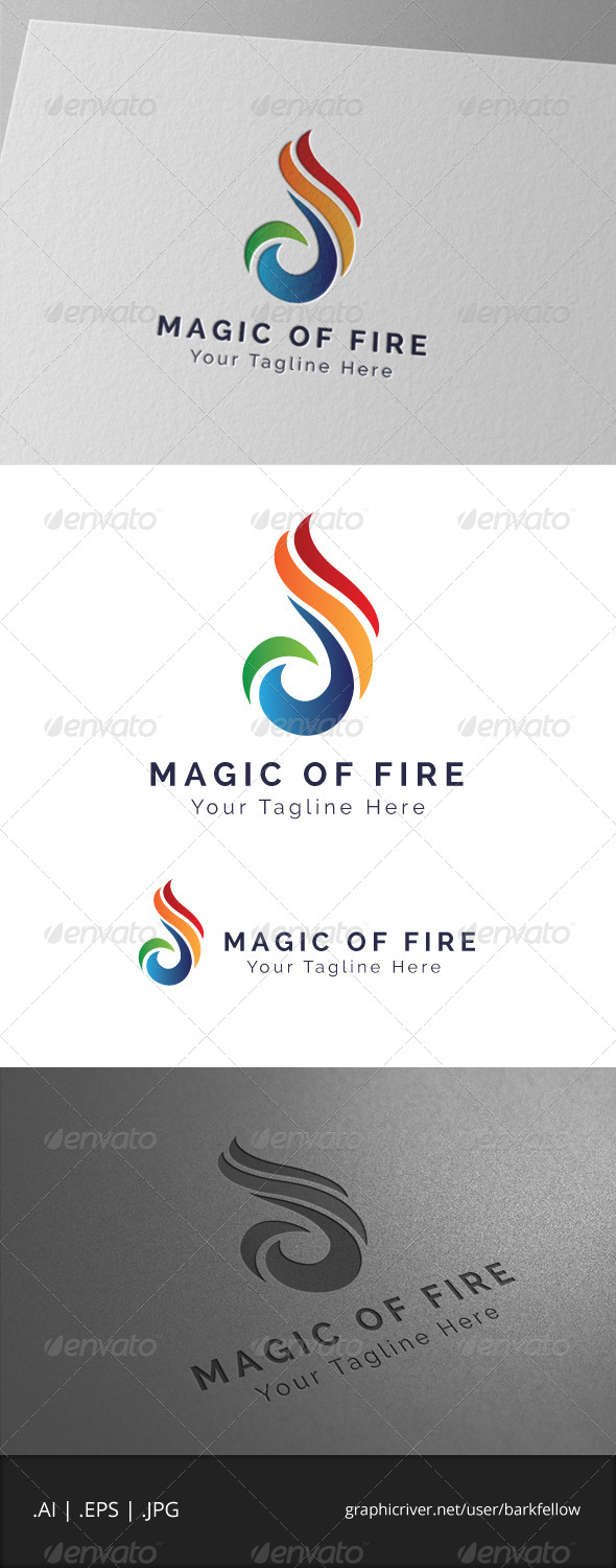 GraphicRiver Magic of Fire Logo 6942931