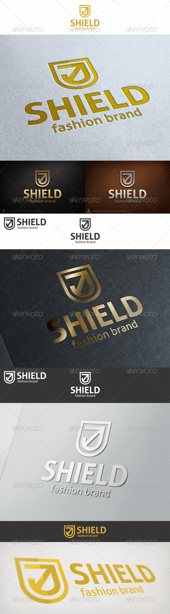 GraphicRiver Shield Logo 6942932