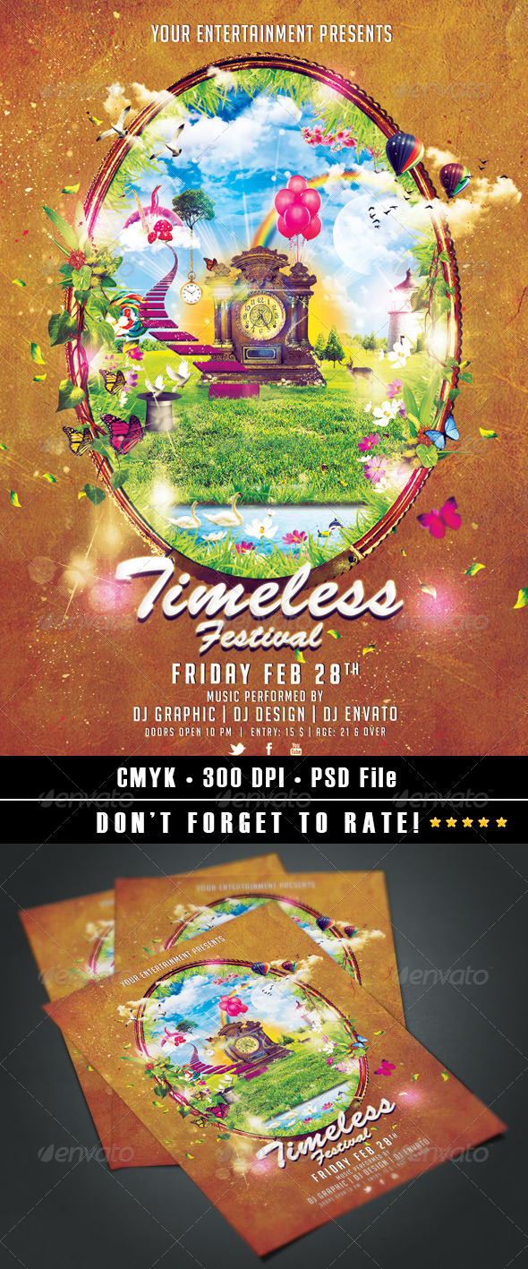 GraphicRiver Timeless Festival 6943053