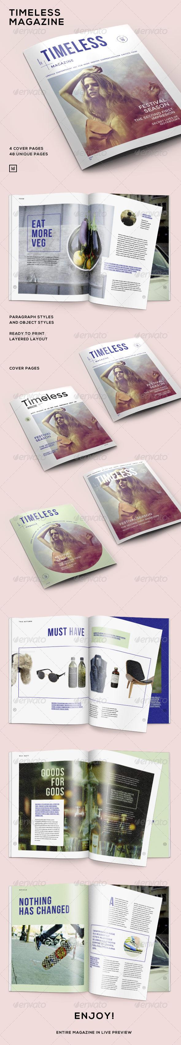 GraphicRiver Timeless Magazine 6942386