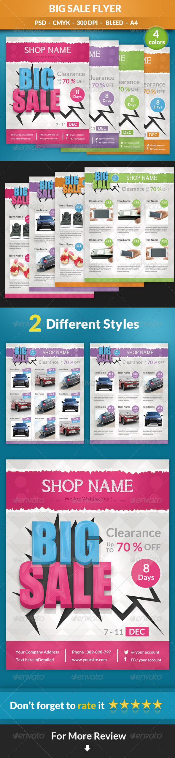 GraphicRiver Big Sale Flyer 6943345