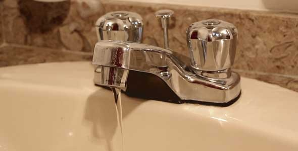Faucet With Running Water