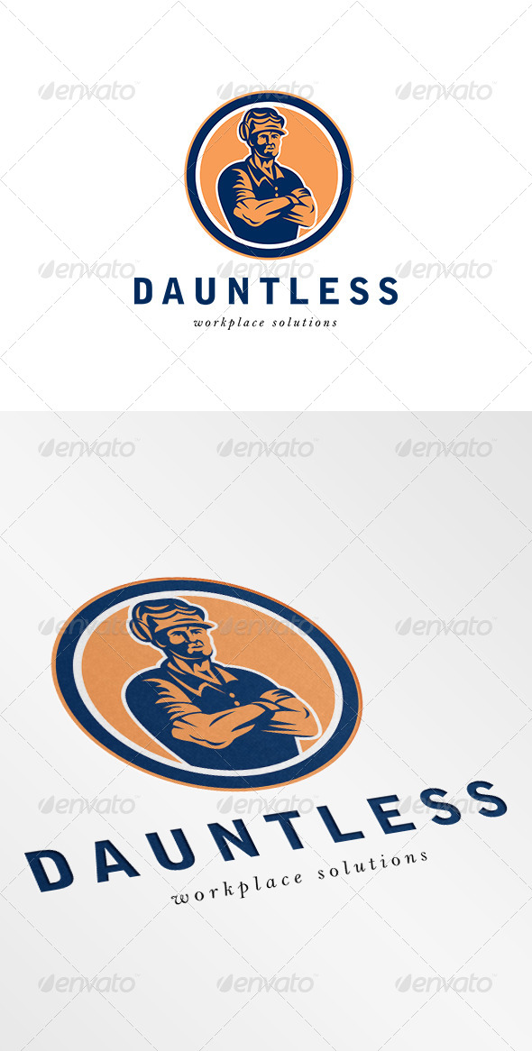 GraphicRiver Dauntless Workplace Solution Logo 6943666