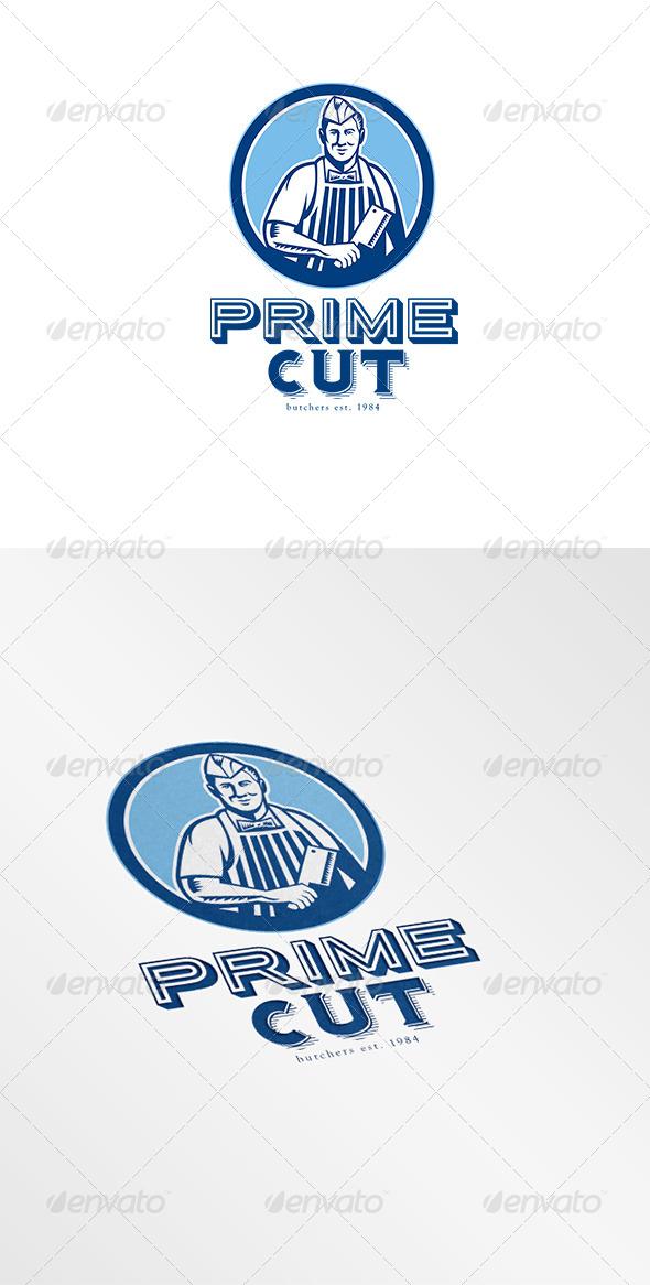 GraphicRiver Prime Cut Butcher Logo 6943888
