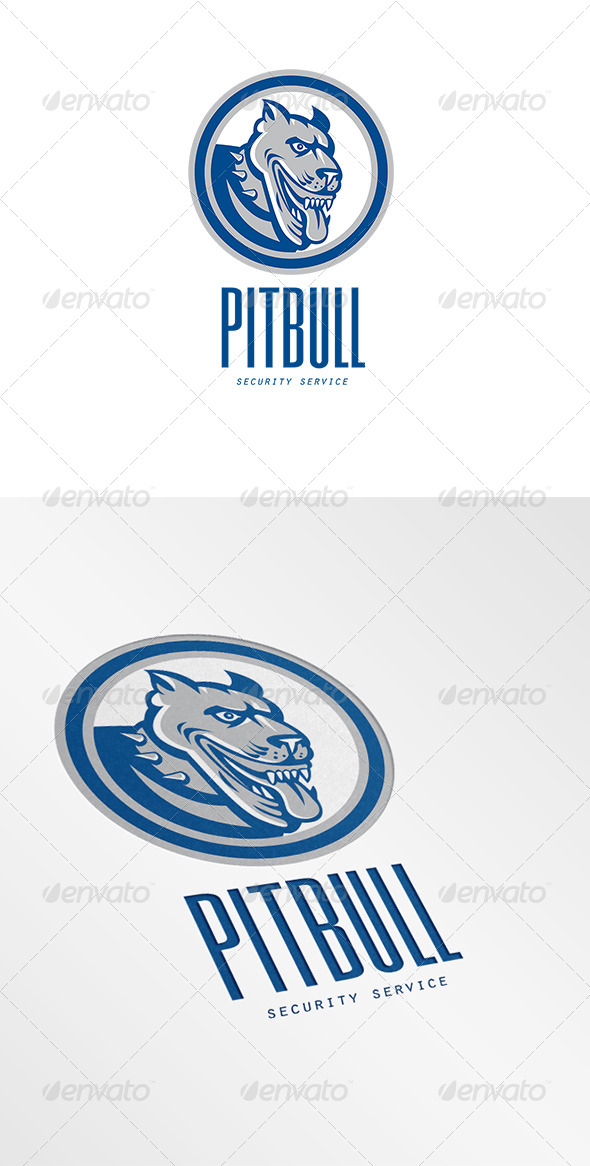 GraphicRiver Pitbull Security Services Logo 6943896