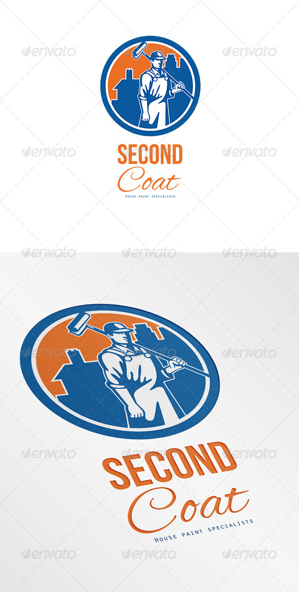 GraphicRiver Second Coat House Painter Specialist Logo 6944050