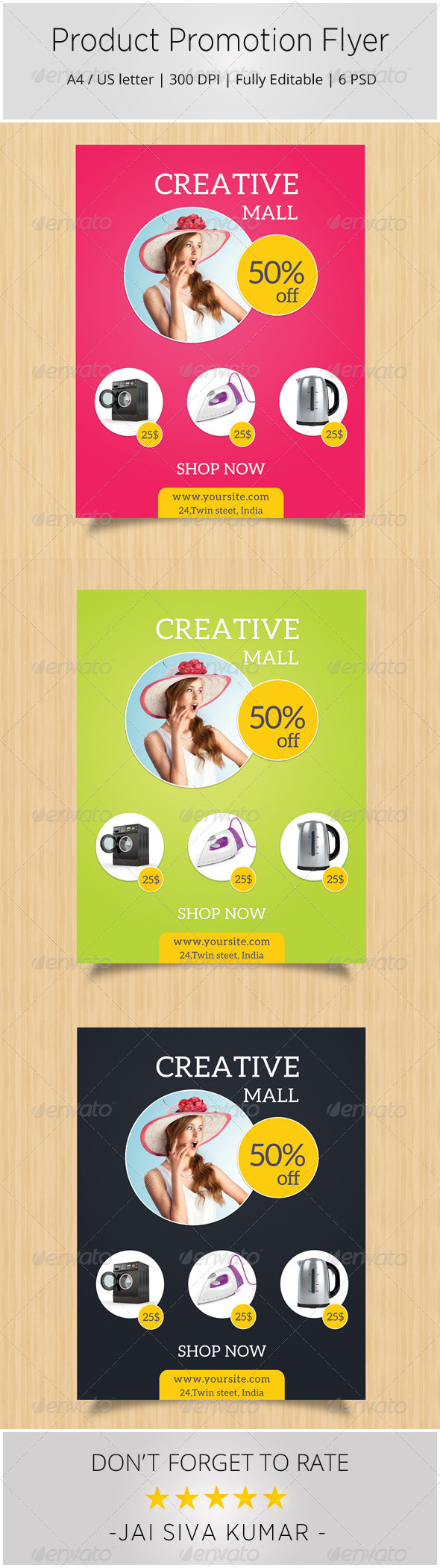 GraphicRiver Product Promotion Flyer 6944090
