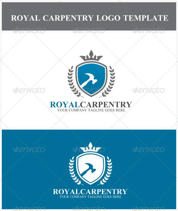 GraphicRiver Royal Carpentry Logo 6944712