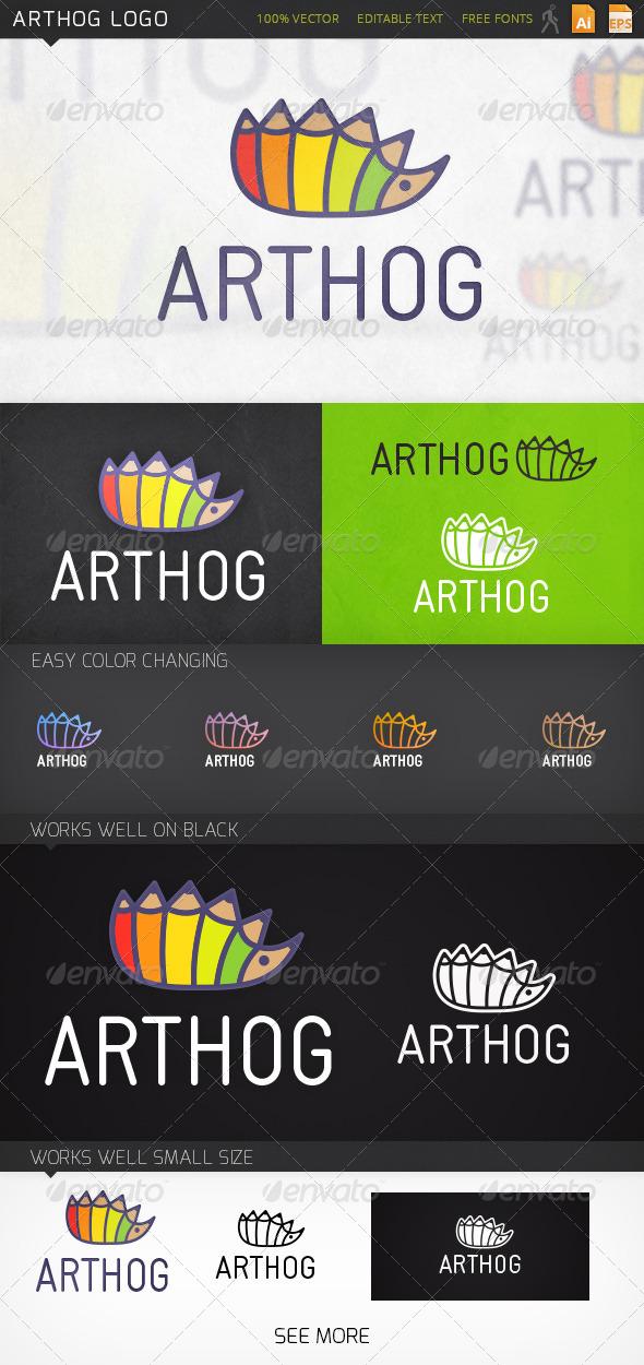 GraphicRiver Arthog Logo 6940892
