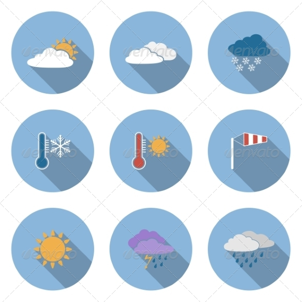 GraphicRiver Weather Icons 6945509