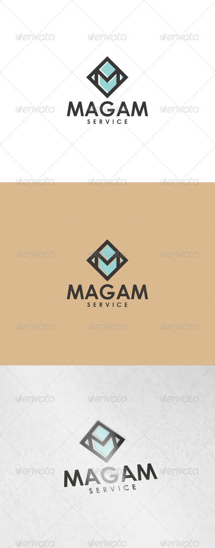 GraphicRiver Magam Logo 6945905
