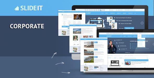 ThemeForest Slideit Corporate HTML Template 6945966