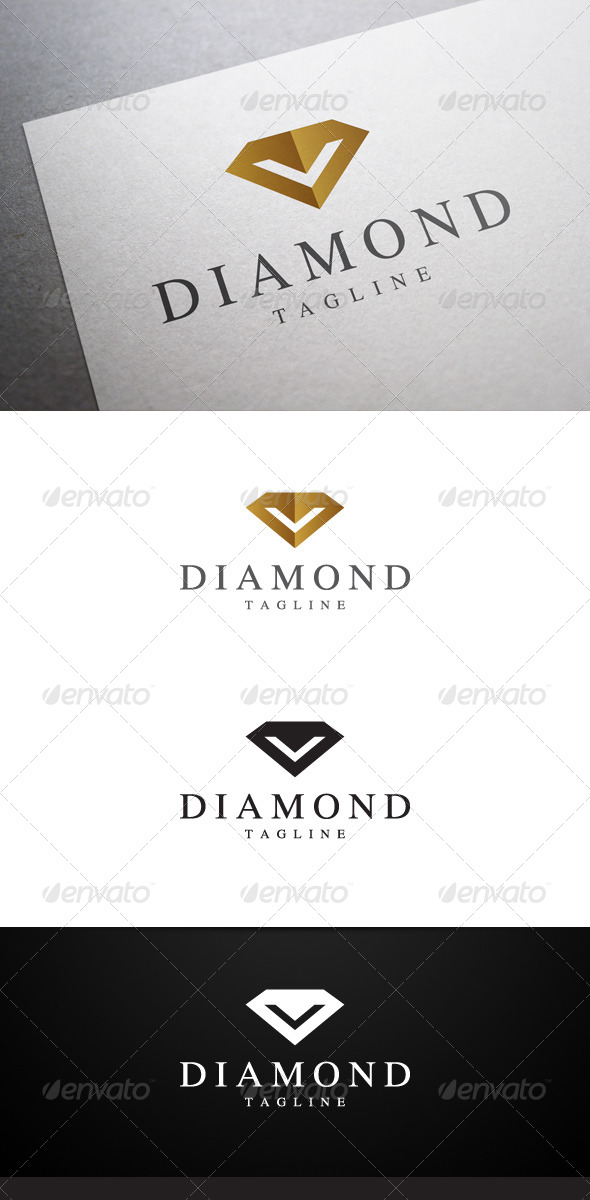 GraphicRiver Diamond Logo 6947163