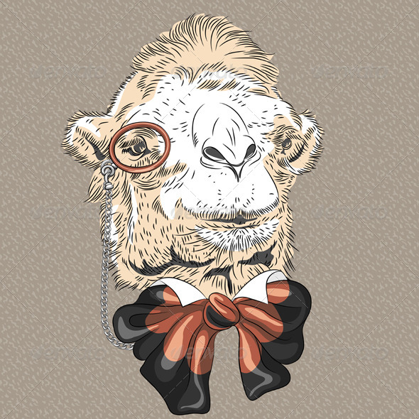 GraphicRiver Camel Hipster 6947280