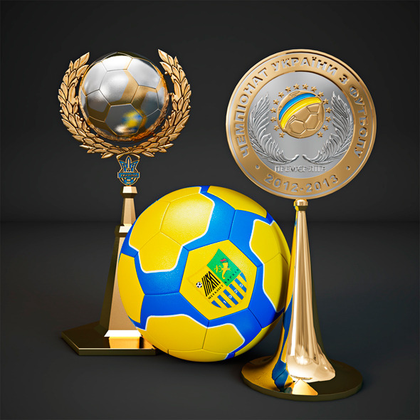 Football Cup - 3DOcean Item for Sale