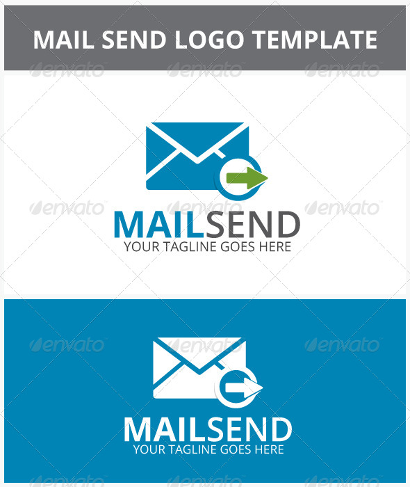 GraphicRiver Mail Send Logo 6947467