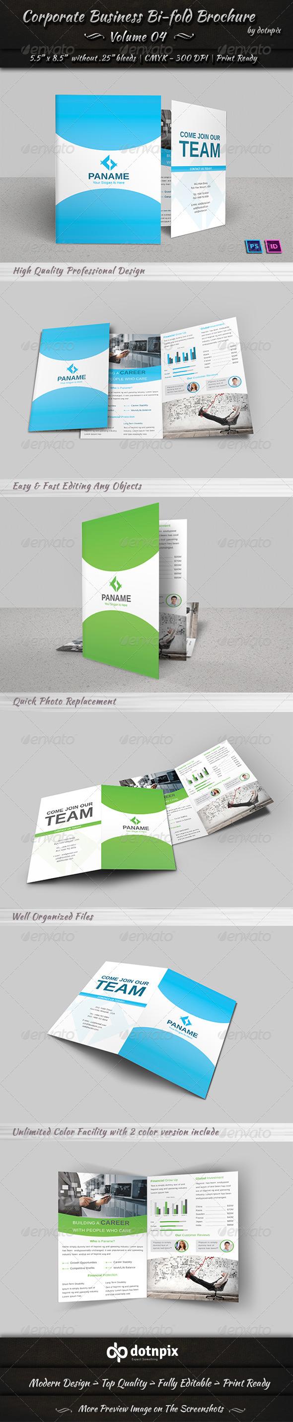 GraphicRiver Corporate Business Bi-Fold Brochure Volume 4 6948385