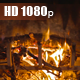 Fire Burning In The Fireplace - VideoHive Item for Sale