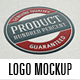 Realistic Logo Mockup v.3 - GraphicRiver Item for Sale