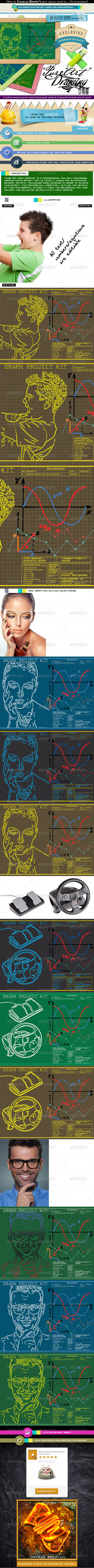 GraphicRiver Pure Art Hand Drawing 58 Graph Project Kit 6949405