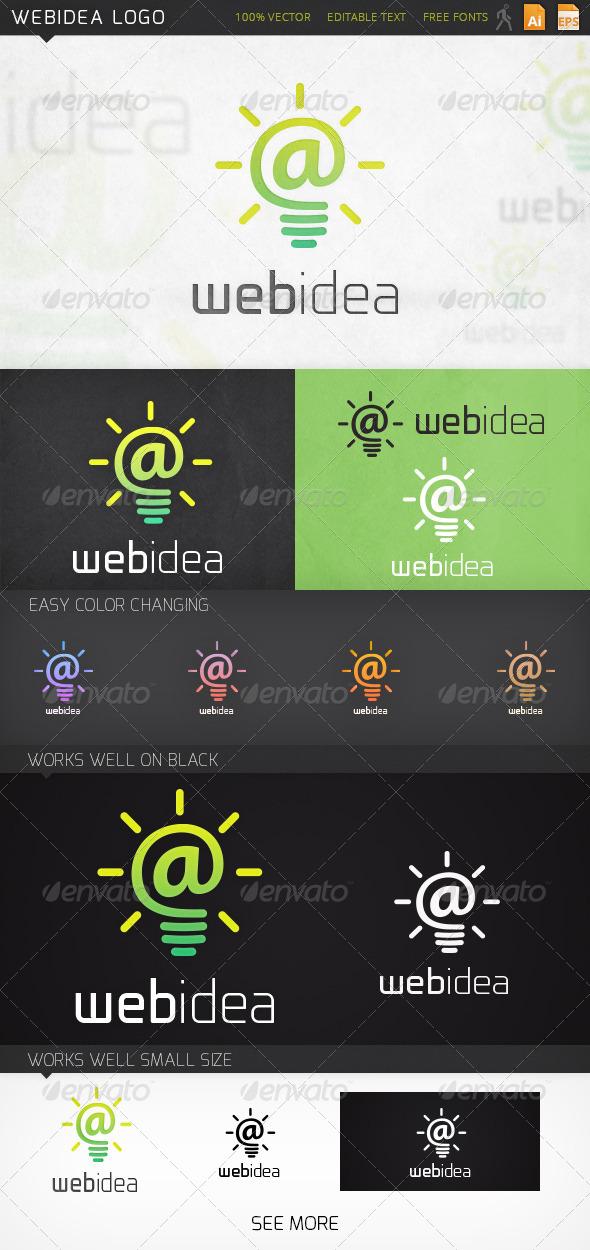 GraphicRiver Webidea Logo v1 6949443