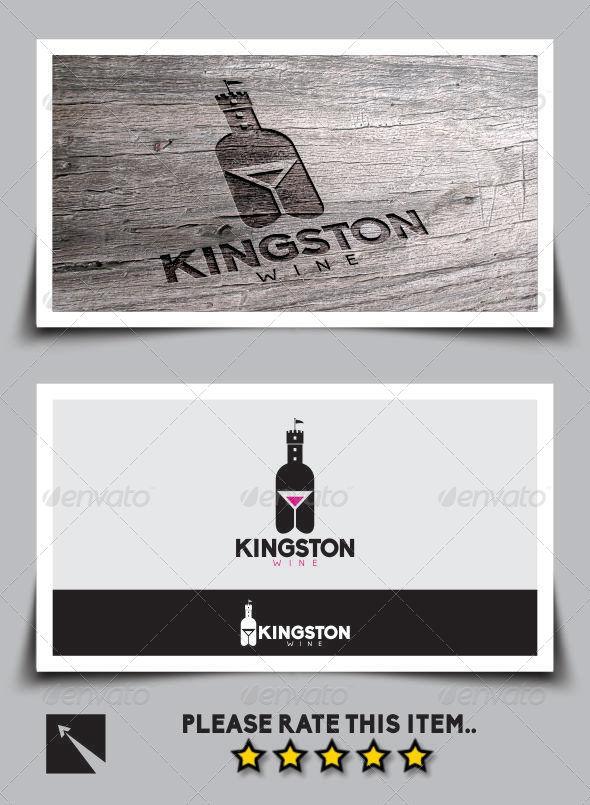 GraphicRiver Kingston Wine Logo Template 6949674