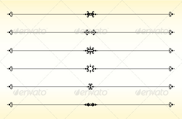 GraphicRiver Line Dividers 6947954