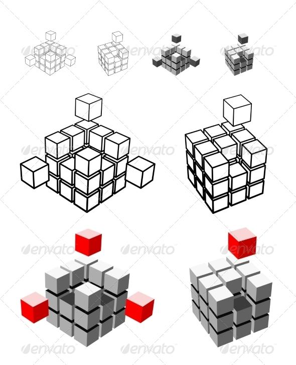 GraphicRiver Cube Illustration 6949864