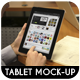 Tablet Pad Mock-Up - GraphicRiver Item for Sale