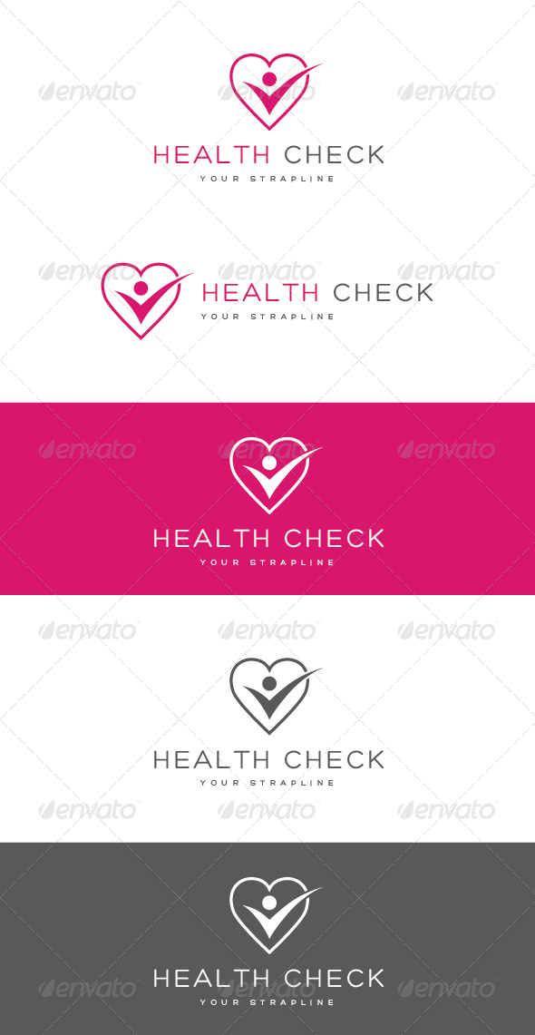 GraphicRiver Health Check Logo 6951281