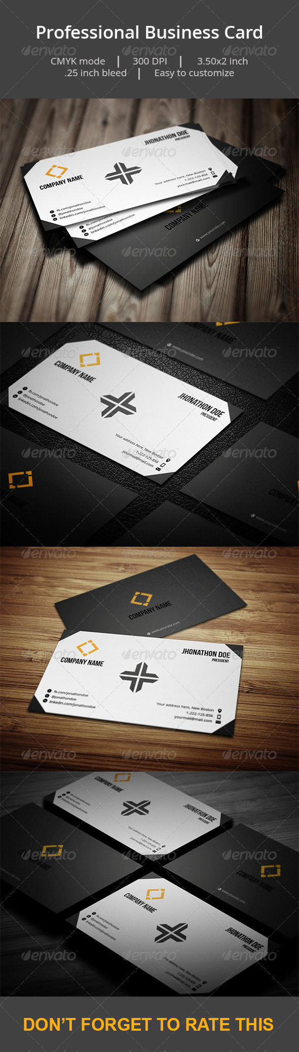 GraphicRiver Professional Business card 6951771