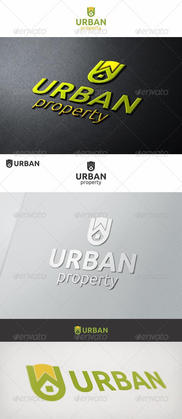 GraphicRiver Urban Property U Logo 6952497