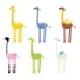 Giraffe Seamless