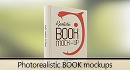 Photorealistic BOOK Mockups