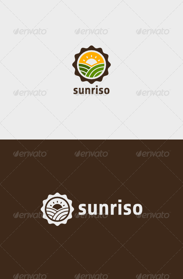 GraphicRiver Farm Sunriso Logo 6954945