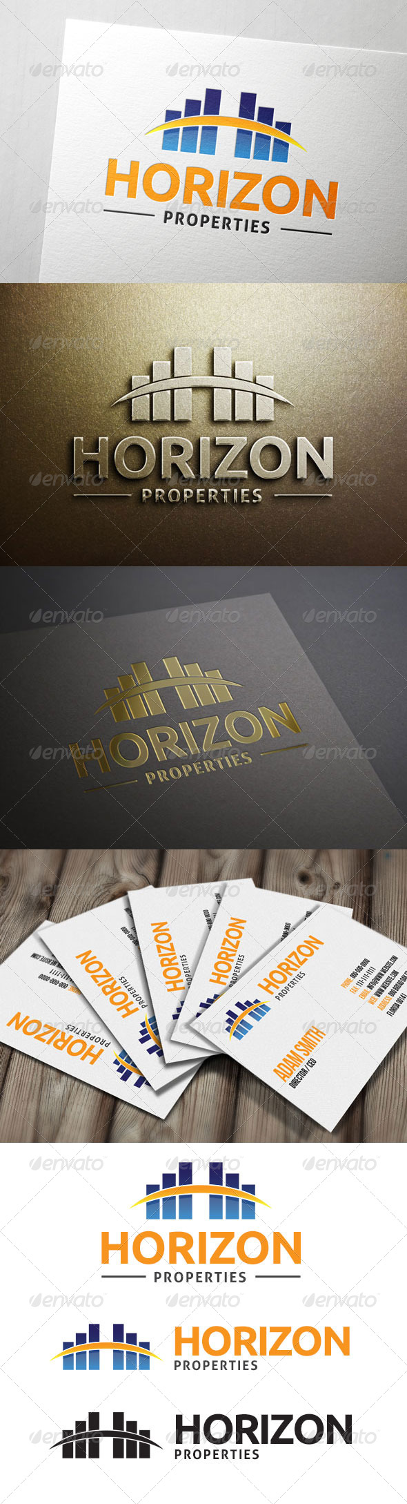 GraphicRiver Horizon Properties Logo 6954951