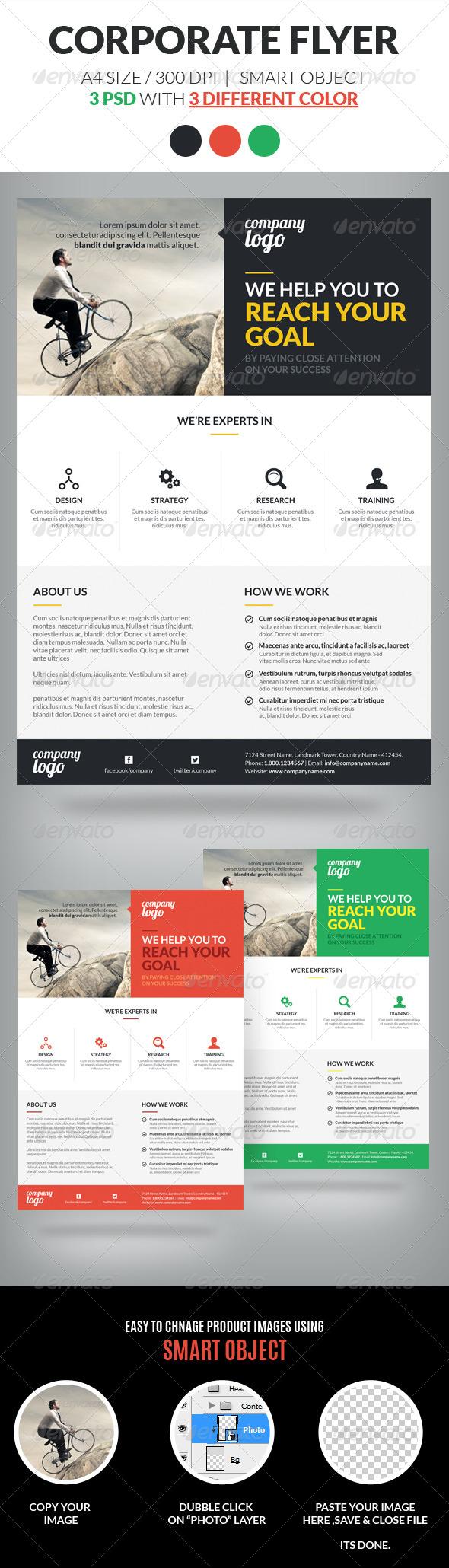 GraphicRiver Corporate Flyer Template Vol 2 6955430
