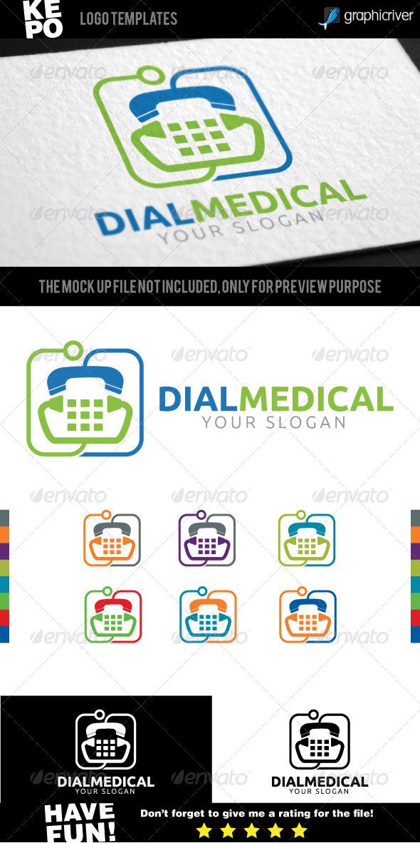 GraphicRiver Dial Medical Logo 6955714