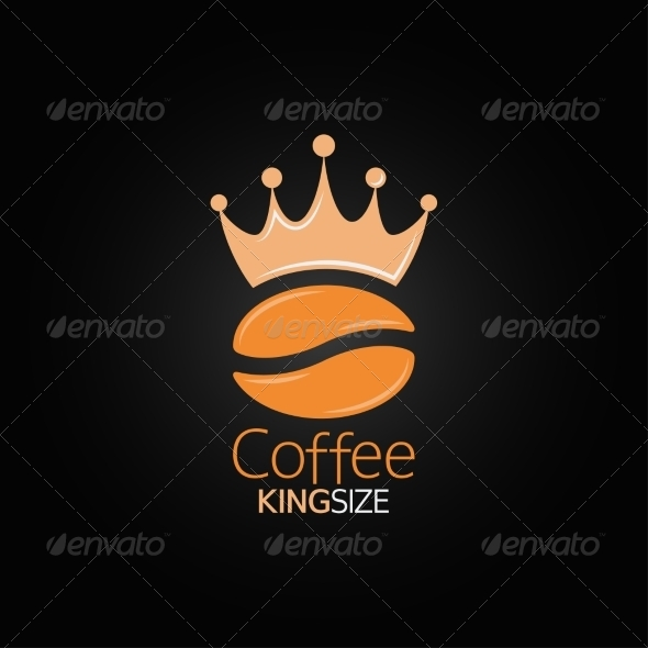 GraphicRiver Coffee Bean Crown Design Menu Background 6955777