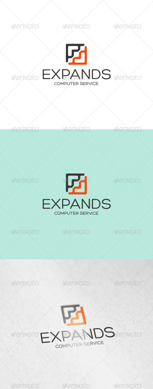 GraphicRiver Expands Logo 6955818