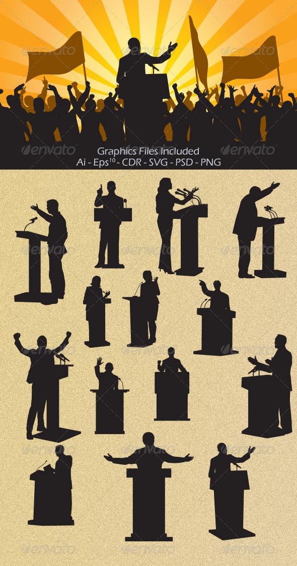 GraphicRiver Speech 6955913