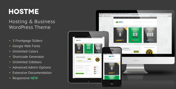 Hostme Premium Hosting & Business Wordpress Theme - Hosting Technology