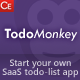 TodoMonkey - PHP SaaS Todo-List App With Ad Areas