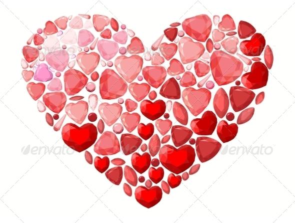 GraphicRiver Jevel Heart 6958074
