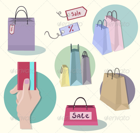 GraphicRiver Shopping Icons 6870136