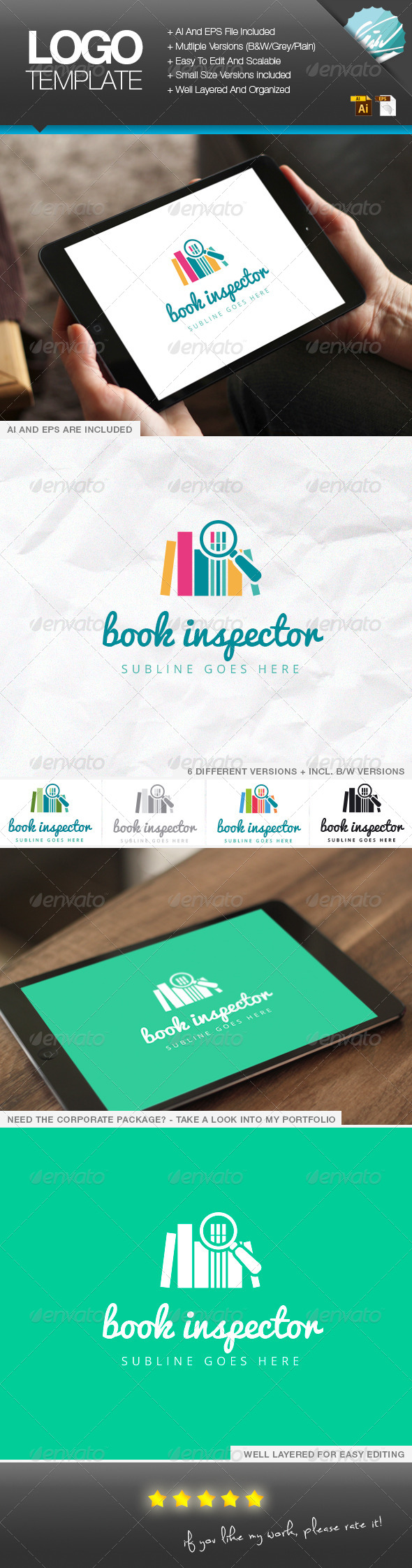 GraphicRiver Book Inspector 6958748